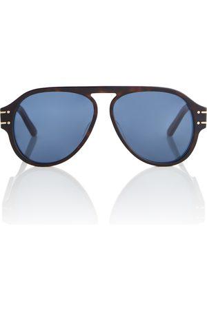 Dior DiorSignature A1U aviator sunglasses