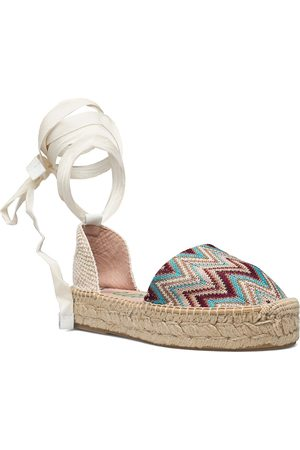 Wonders Naiset Espadrillot - Ya-Al02-Gr Tonga Matalat Sandaalit Espadrillot Vaaleanpunainen