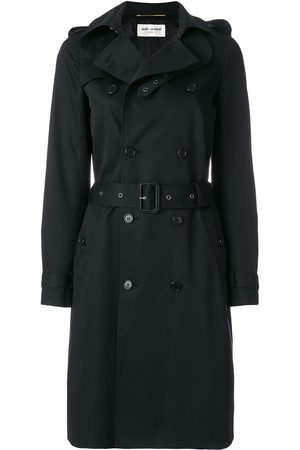 Saint Laurent Naiset Trenssit - Double-breasted trench coat