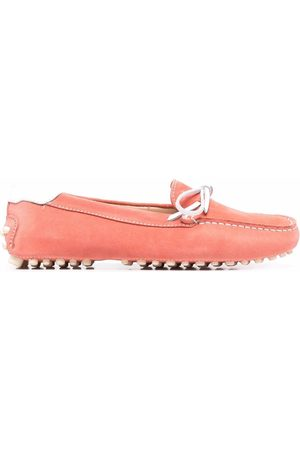Dee Ocleppo Contrast stitch driving loafers