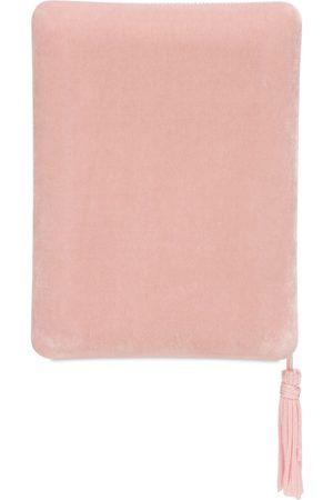 SOPHIE BILLE BRAHE Boite Rose Velvet Jewelry Box W/ Tassel