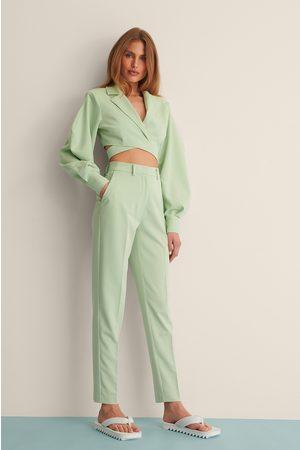 Curated Styles Suorat Puvunhousut - Green