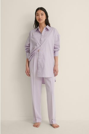 NA-KD Mid Rise -Puvunhousut - Purple