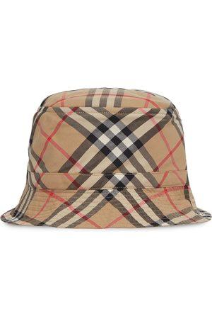 Burberry Hatut - Vintage Check print bucket hat