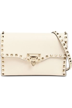 VALENTINO GARAVANI Naiset Clutch laukut - Small Rockstud Grained Leather Bag