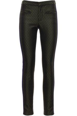 Haider Ackermann Naiset Kapeat - Jacquard Silk Skinny Pants