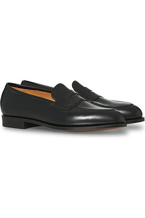 EDWARD GREEN Miehet Loaferit - Piccadilly Penny Loafer Black Calf