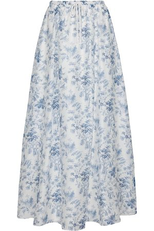 SIR Exclusive to Mytheresa – Clementine cotton and silk maxi skirt