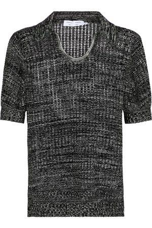 Proenza Schouler White Label silk and cotton knit polo shirt
