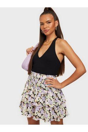 ONLY Naiset Minihameet - Onlnova Lux Mette Smock Skirt Aop W