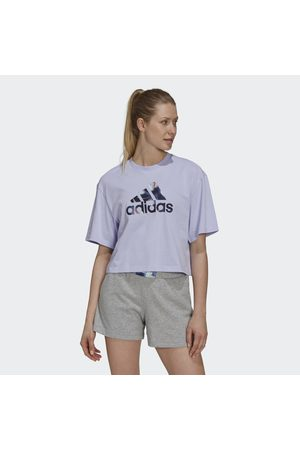 adidas Naiset T-paidat - You for You Cropped Logo Tee
