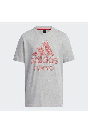 adidas Lapset T-paidat - Tokyo Pack Short Sleeve Tee