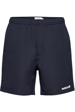 Farah Miehet Shortsit - Redwald Dobby Short Shorts Casual Musta