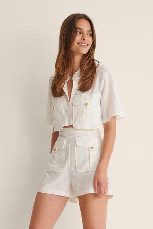 Trendyol Pocket Detail Set - White