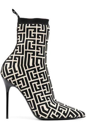 Balmain Naiset Nilkkurit - Skye 120mm ankle boots