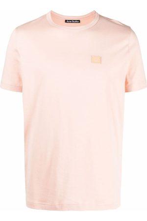 Acne Studios T-paidat - Face patch crew-neck T-shirt