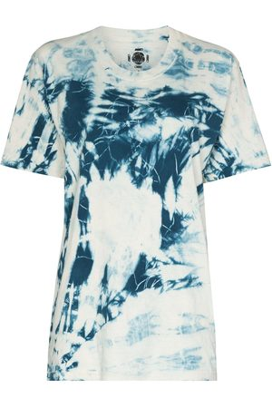 COME BACK AS A FLOWER Naiset T-paidat - Tie-dye cotton T-shirt
