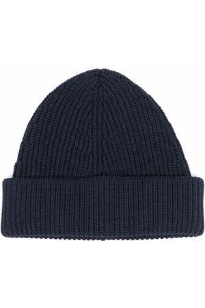 Maison Margiela Miehet Hatut - Ribbed knit beanie hat