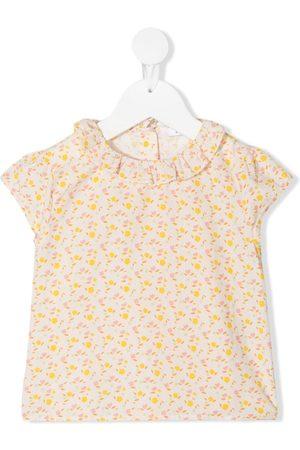 KNOT T-paidat - Flower Power short-sleeved blouse