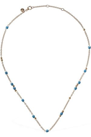 Dodo 9kt & Turquoise Ceramic Necklace
