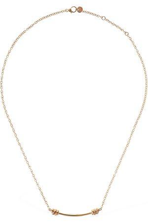 Dodo 9kt Nodo Long Necklace