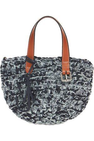J.W.Anderson Mini Belt Recycled Denim Tote Bag