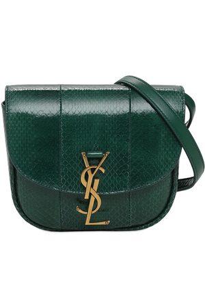 Saint Laurent Small Kaia Snakeskin Shoulder Bag