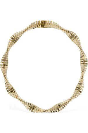 Bottega Veneta Wavy Chain Short Necklace