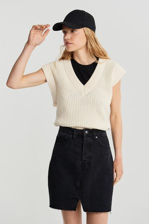 Gina Tricot Naiset Minihameet - Original denim skirt