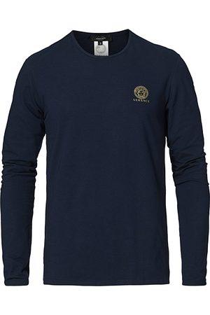 VERSACE Miehet T-paidat - Medusa Long Sleeve Tee Navy