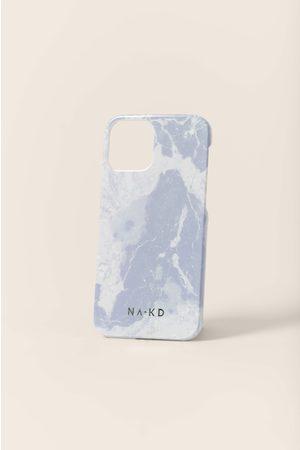 NA-KD Naiset Puhelinkuoret - Printed Phone Case - Blue