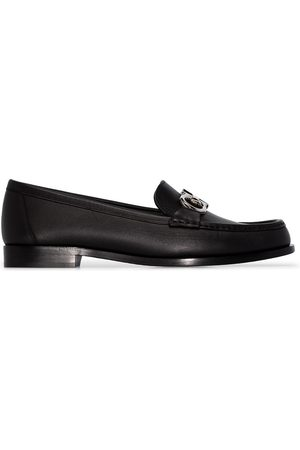 Salvatore Ferragamo Naiset Loaferit - Polo leather loafers