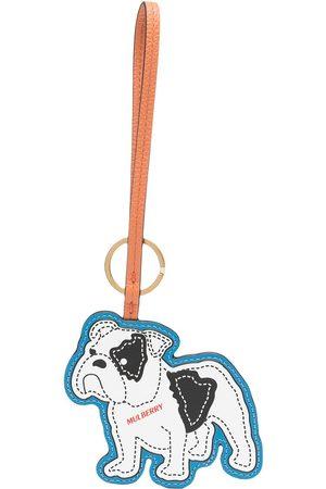 MULBERRY Naiset Avaimenperät - Bulldog leather keyring