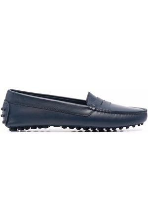 Scarosso Naiset Loaferit - Ashley almond-toe loafers