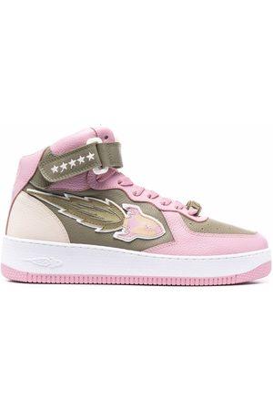 ENTERPRISE JAPAN Naiset Loaferit - EJ Rocket mid-high lace-up sneakers