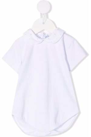 SIOLA Peter pan-collar embroidered-detail body