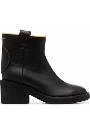 MM6 MAISON MARGIELA ANKLE CKUNKY BOOT