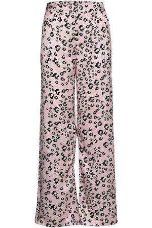 By Malina Naiset Leveälahkeiset - Mandie Pants Leveälahkeiset Housut Vaaleanpunainen