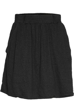 Cathrine hammel Linen Short Flared Skirt Lyhyt Hame
