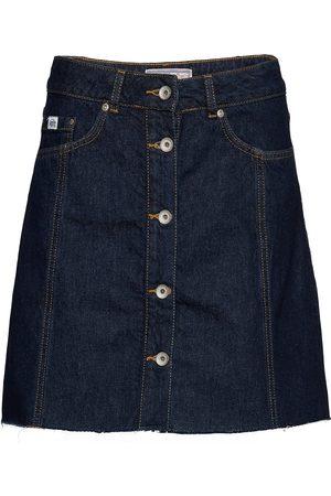 Superdry Naiset Minihameet - Denim A_line Skirt Lyhyt Hame