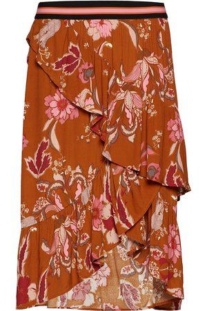 Sofie Schnoor Naiset Midihameet - Skirt Polvipituinen Hame Oranssi