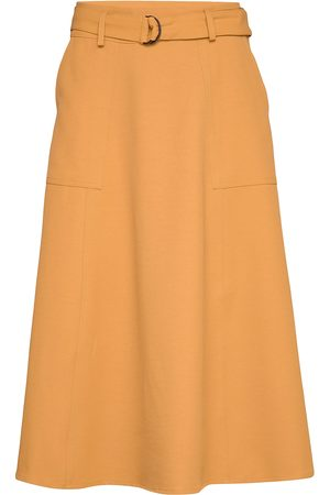 Gestuz Liyagz Skirt So20 Polvipituinen Hame Oranssi