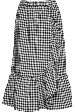 Bruuns Bazaar Naiset Midihameet - Seer Jessie Skirt Polvipituinen Hame