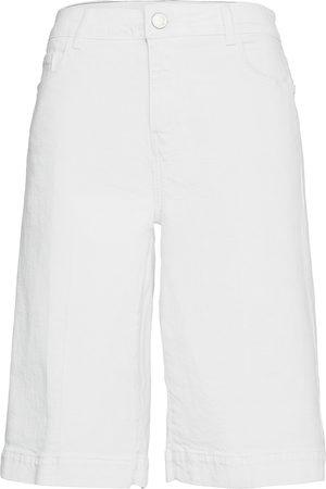 Mos Mosh Zoe White Skirt Short Bermudashortsit Shortsit