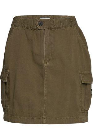 Tommy Hilfiger Short Cargo Skirt Ol Lyhyt Hame