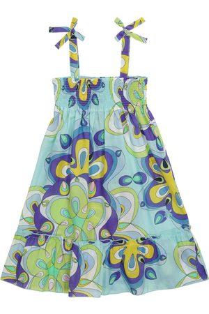 Vilebrequin Tytöt Printtimekot - Gloss printed cotton dress