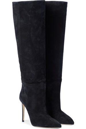 PARIS TEXAS Suede knee-high boots