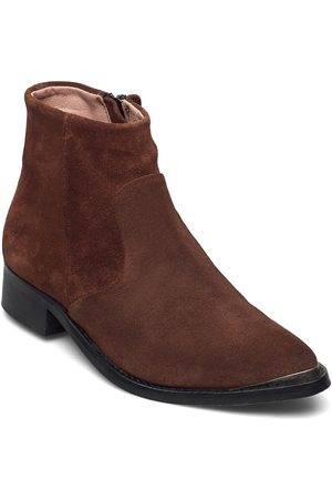 Sneaky Steve Electric W Suede Sho Shoes Boots Ankle Boots Ankle Boot - Flat
