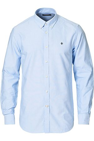 Morris Oxford Button Down Cotton Shirt Light Blue
