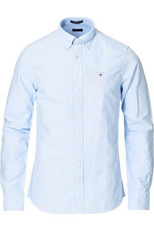GANT Miehet Bisnes - Slim Fit Oxford Shirt Capri Blue